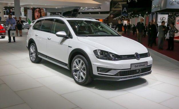 VW's Golf Alltrack is a Crossover SportWagen that We Desperately Want