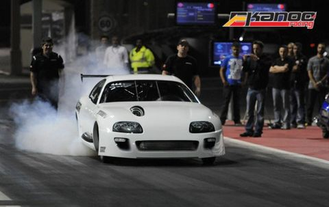 World's Quickest Import: Watch a Supra Blast a 6.05-Second, 241-mph 1/4-Mile