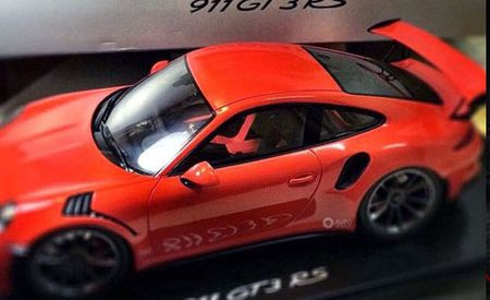 Toy Giveaway: Next Porsche 911 GT3 RS Leaked in Die-Cast Form