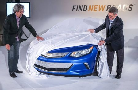 Chevrolet Shows (Part of) the 2016 Volt Ahead of Debut, Reveals Charging Enhancements