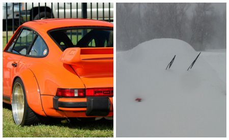Buffalo's Epic Snowstorm Couldn't Stop This Man and His 560-hp '81 911 Turbo—Until It Did
