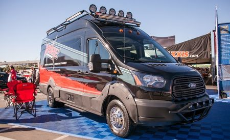 Van, Wilder: Ford Bringing Five Rad Transit Vans to SEMA