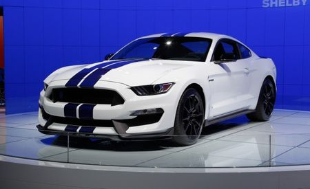 5 Things You Need to Know About the 2016 Mustang Shelby GT350's Flat-Crank V-8