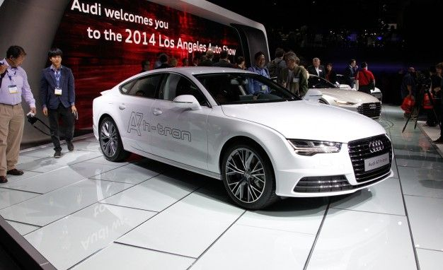 Audi Shows Off Fuel-Cell A7 Sportback H-tron at the L.A. Auto Show