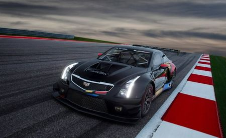Cadillac Has Unleashed the Wonderfully Brutal 600-hp ATS-V.R Race Car