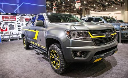 Turf and Surf: Ricky Carmichael and Nautique Boats Inspire Two SEMA Chevy Colorado Concepts