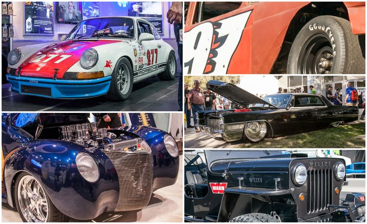 15 of the Hottest Classics at SEMA: Porsches, Mustangs, Off-Roaders, and More