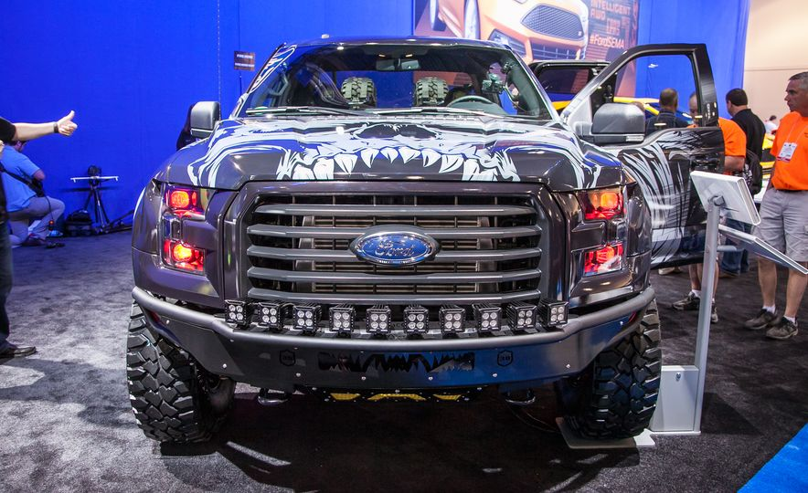 2015 Ford F-150 Invades SEMA—And You Can See Them All Here - Slide 2