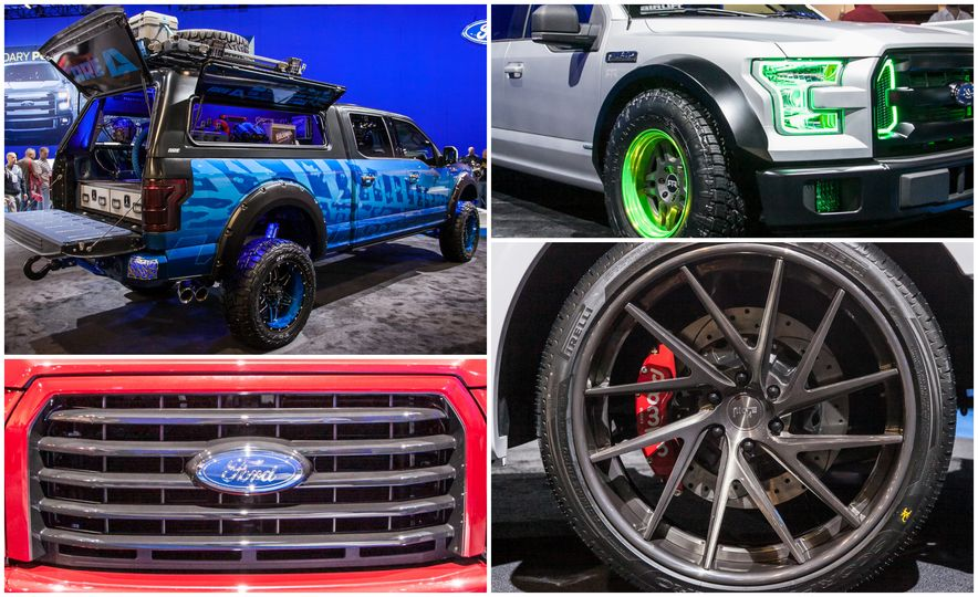 2015 Ford F-150 Invades SEMA—And You Can See Them All Here - Slide 1