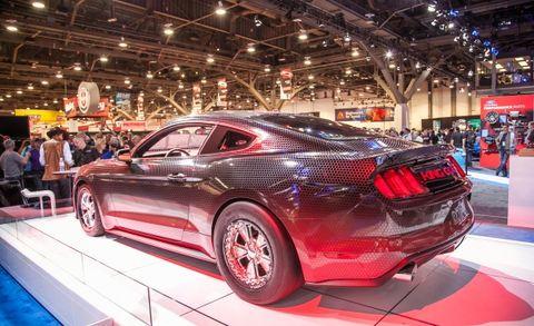 Ford Racing 2015 Mustang Gt King Cobra Packs 600 Horsepower