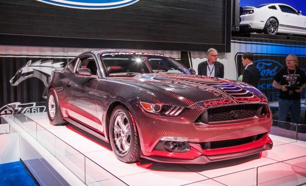 Ford Racing 2015 Mustang GT King Cobra Packs 600+ Horsepower