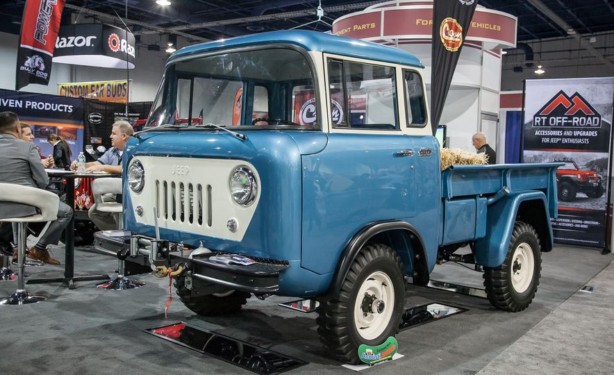 FCs, Jeepsters, CJs, and More: The Awesome Classic Jeeps of SEMA - Slide 2
