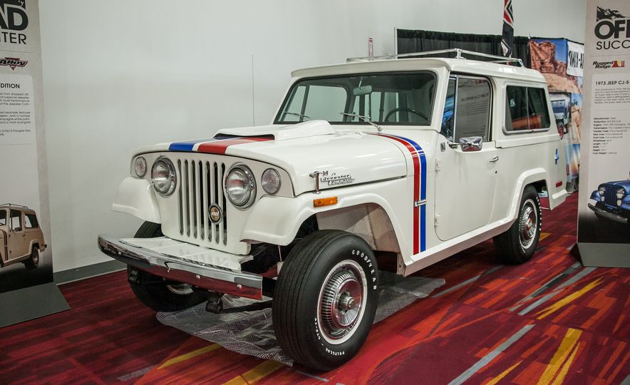 FCs, Jeepsters, CJs, and More: The Awesome Classic Jeeps of SEMA - Slide 3