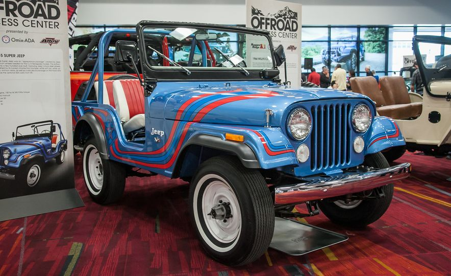 FCs, Jeepsters, CJs, and More: The Awesome Classic Jeeps of SEMA - Slide 4