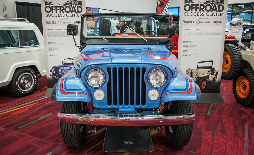 FCs, Jeepsters, CJs, and More: The Awesome Classic Jeeps of SEMA - Slide 5