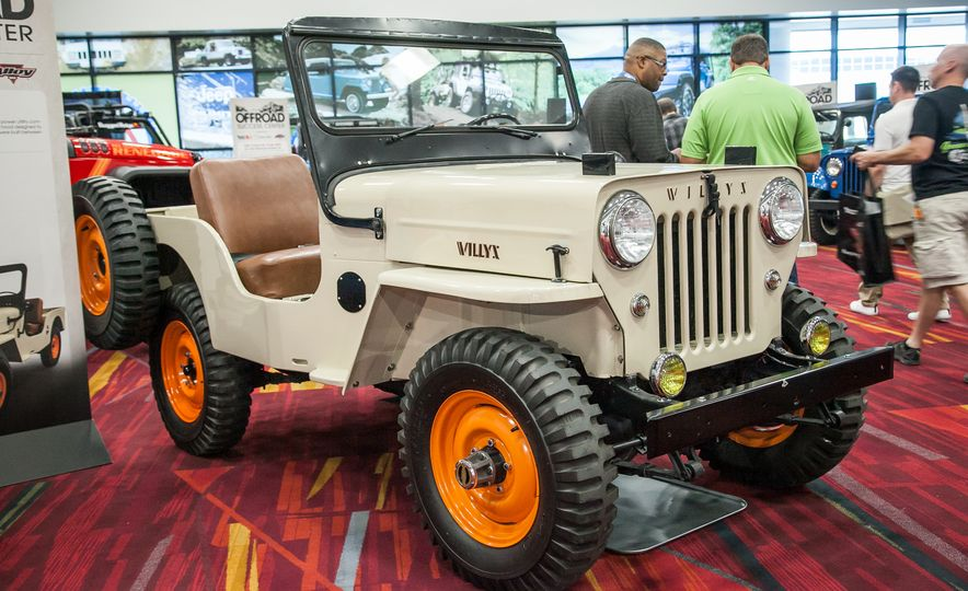 FCs, Jeepsters, CJs, and More: The Awesome Classic Jeeps of SEMA - Slide 6