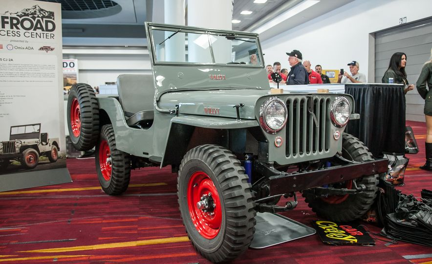 FCs, Jeepsters, CJs, and More: The Awesome Classic Jeeps of SEMA - Slide 7