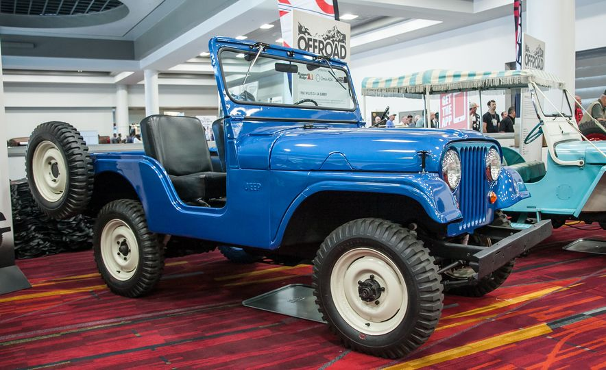 FCs, Jeepsters, CJs, and More: The Awesome Classic Jeeps of SEMA - Slide 9