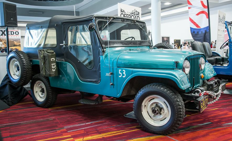 FCs, Jeepsters, CJs, and More: The Awesome Classic Jeeps of SEMA - Slide 10
