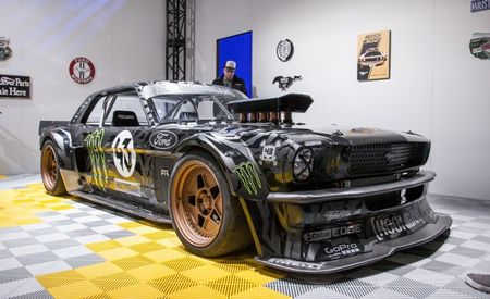 "Everything You Need to Know About Ken Block's Wicked, 845-hp ""Ford Mustang"" Hoonicorn"