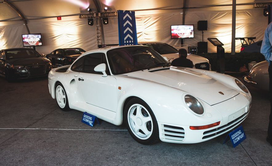 Hey, We Found a Pile of Sweet Vintage Porsches, Benzes, and Detroit Iron at the L.A. Auto Show - Slide 2