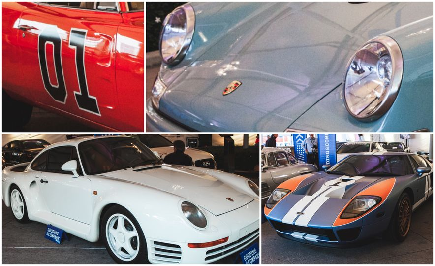 Hey, We Found a Pile of Sweet Vintage Porsches, Benzes, and Detroit Iron at the L.A. Auto Show - Slide 1