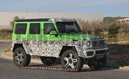 4×4 Version of Mercedes G63 AMG 6×6 Confirmed, Will Be Way Cooler than You Even Think