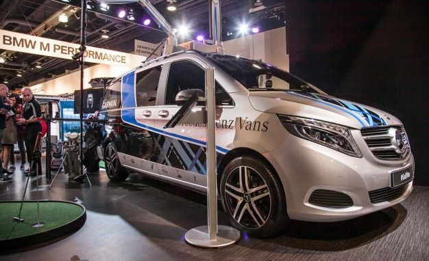 Mercedes Bringing Metris Van to U.S., Creates Wild SEMA Concepts
