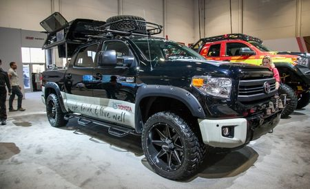 This Burly, Chef-Designed Toyota Tundra Is a Tactical Gameday Machine