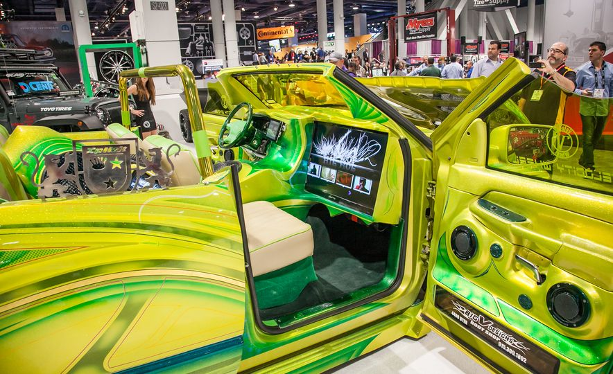 The Great and the Gawdawful: The 45 Cars You Must See from SEMA 2014 - Slide 4