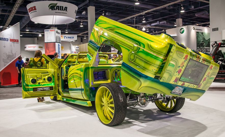 The Great and the Gawdawful: The 45 Cars You Must See from SEMA 2014 - Slide 5