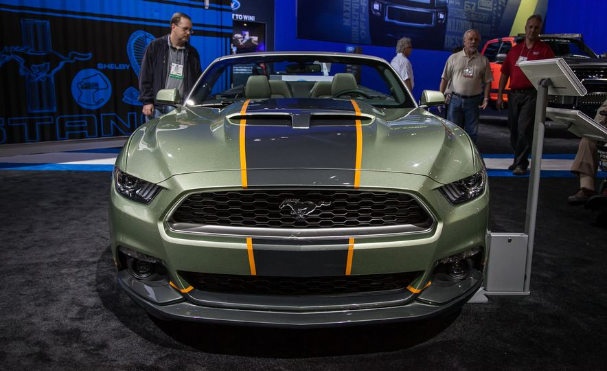 The Ford Mustangs of SEMA—New, Old, And Everything in Between - Slide 5