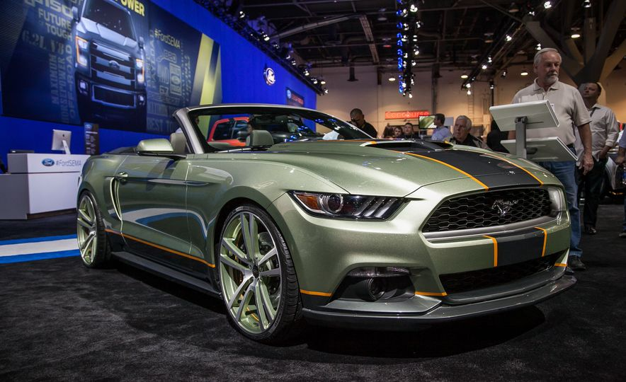 The Ford Mustangs of SEMA—New, Old, And Everything in Between - Slide 6