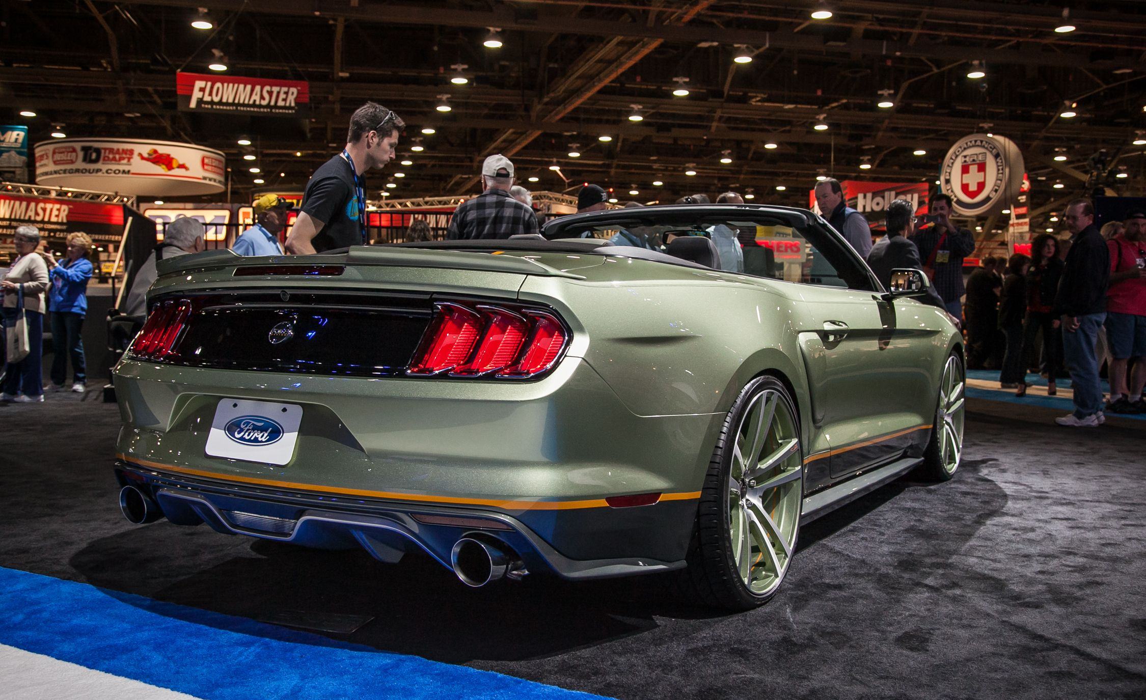The Ford Mustangs of SEMA—New Old And Everything in Between