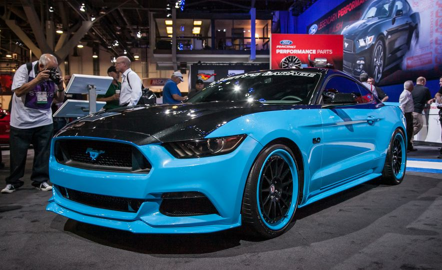 The Ford Mustangs of SEMA—New, Old, And Everything in Between - Slide 8