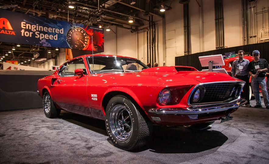 the ford mustangs of sema new old and everything in between. Black Bedroom Furniture Sets. Home Design Ideas