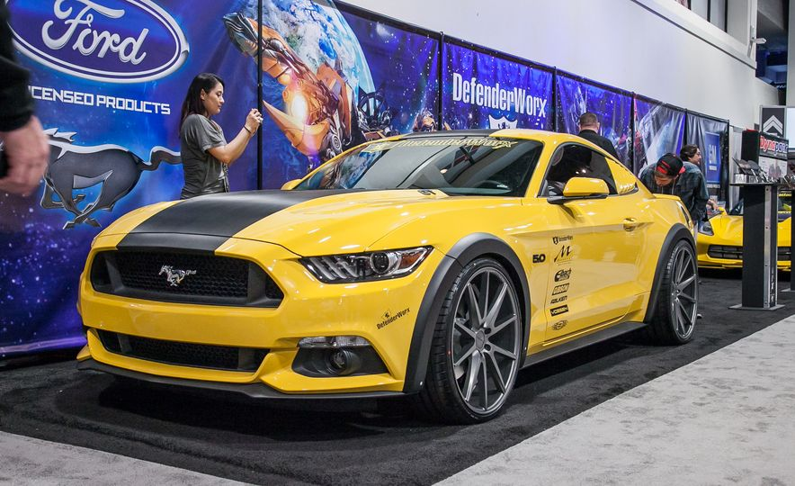 The Ford Mustangs of SEMA—New, Old, And Everything in Between - Slide 35