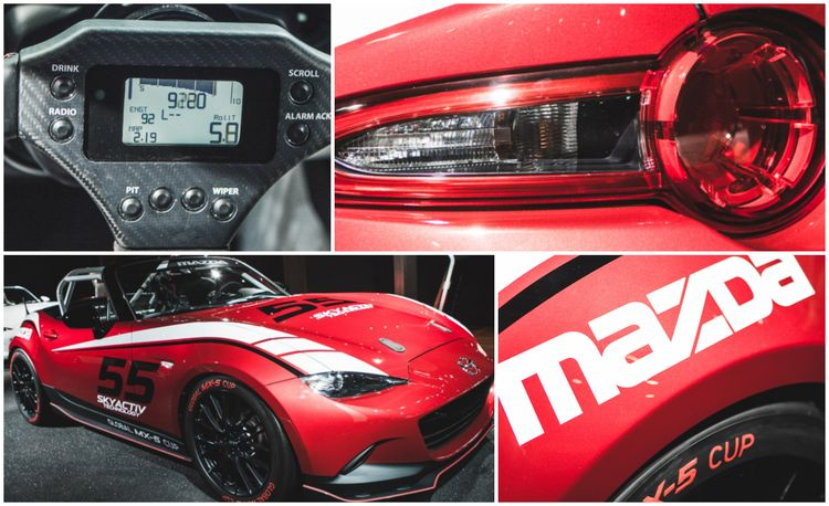 9 Things You Need to Know About the 2016 Mazda MX-5 Miata Cup Race Car