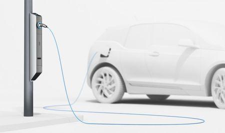BMW Unveils Elegant Combination Street Light/EV Charger