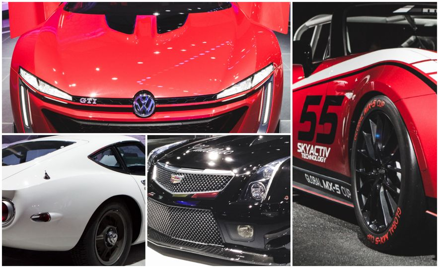 All Radness, No Badness: 7 Hot Race and Performance Cars from the L.A. Auto Show - Slide 1