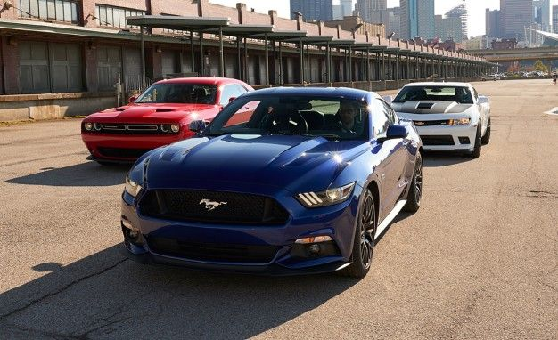 Performance Data Porn: How the 2015 Ford Mustang GT Stacks Up Against Camaro SS 1LE,  Challenger R/T Scat Pack