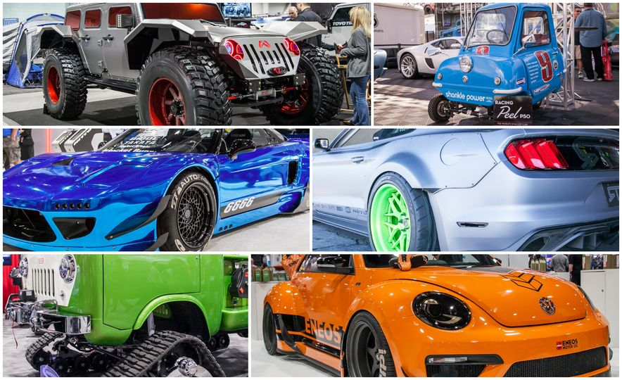The Great and the Gawdawful: The 45 Cars You Must See from SEMA 2014 - Slide 1