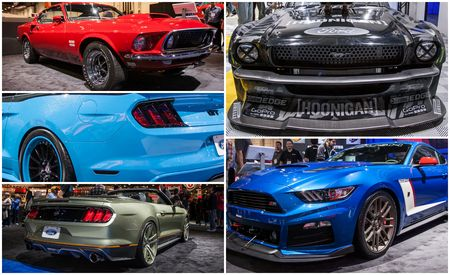 The Ford Mustangs of SEMA—New, Old, And Everything in Between