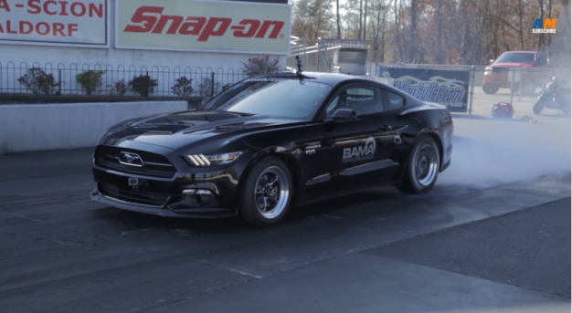 This 2015 Ford Mustang Is the First to Break into the Nines [VIDEO]