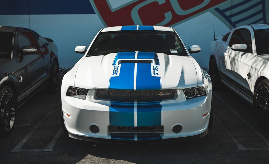 Ford Mustang Shelby GT350s and GT500s Gather to Welcome the New GT350 - Slide 18