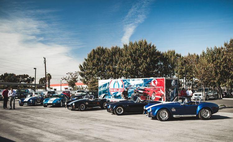 Shelby Mustang Stampede: Classic GT350s, GT500s Gather for New GT350's Launch in L.A.
