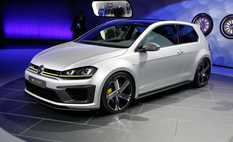 burly vw golf r 400 to make american debut at l a show news car