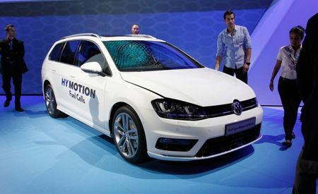 The VW Golf SportWagen HyMotion May Be the Most Advanced Golf Yet