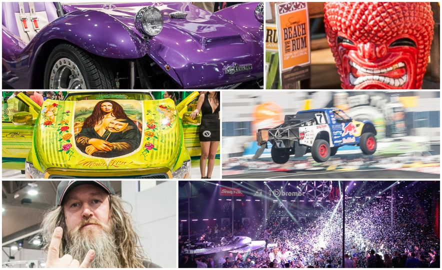 What It's Like to Attend the Insane, Awesome, and Closed-to-the-Public SEMA Show in 35 Photos - Slide 1