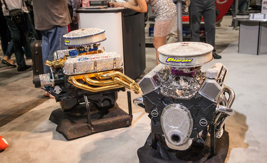 What It's Like to Attend the Insane, Awesome, and Closed-to-the-Public SEMA Show in 35 Photos - Slide 29